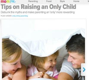 RaisingOnlyChild
