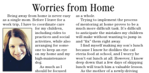 worries from home