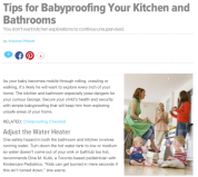 babyproofing