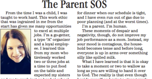 parent SOS