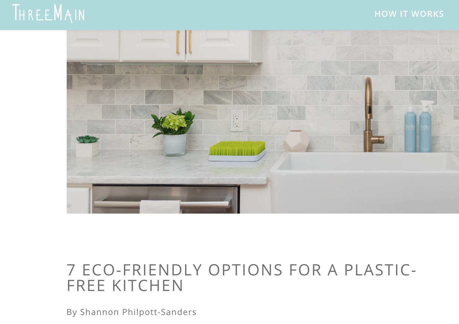 7 Eco-Friendly Options for a Plastic-Free Kitchen « Shannon Philpott ...
